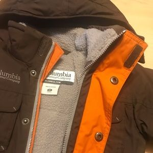 Columbia Toddler Fleece Lined Winter Jacket